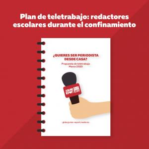 Plan de teletrabajo: redactores escolares durante el confinamiento