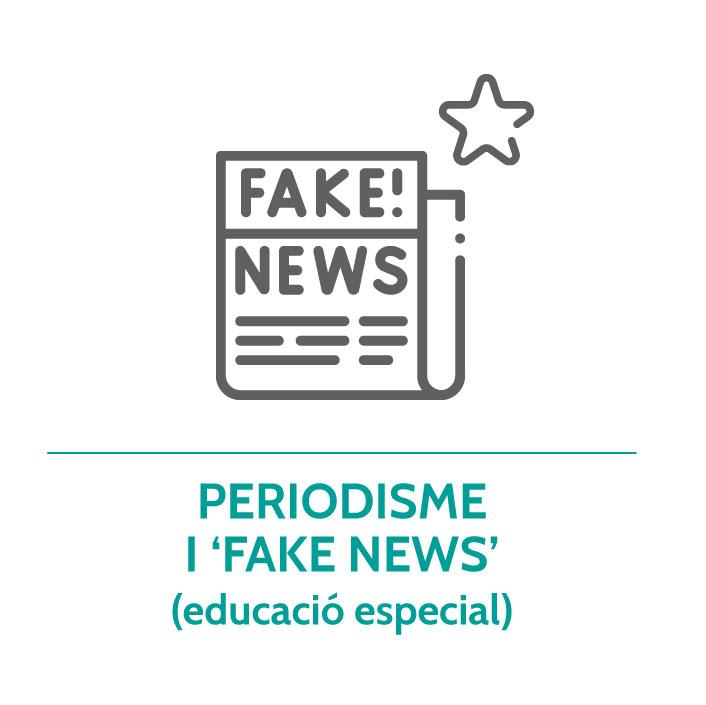 Botó per coneixer el taller de periodisme i fake news educació especial de Junior Report