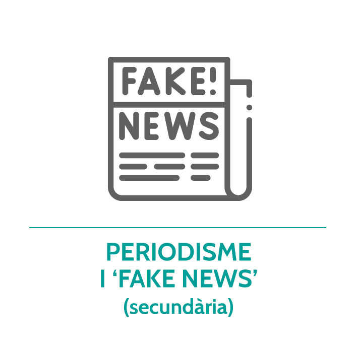 Botó per coneixer el taller de periodisme i fake news de Junior Report