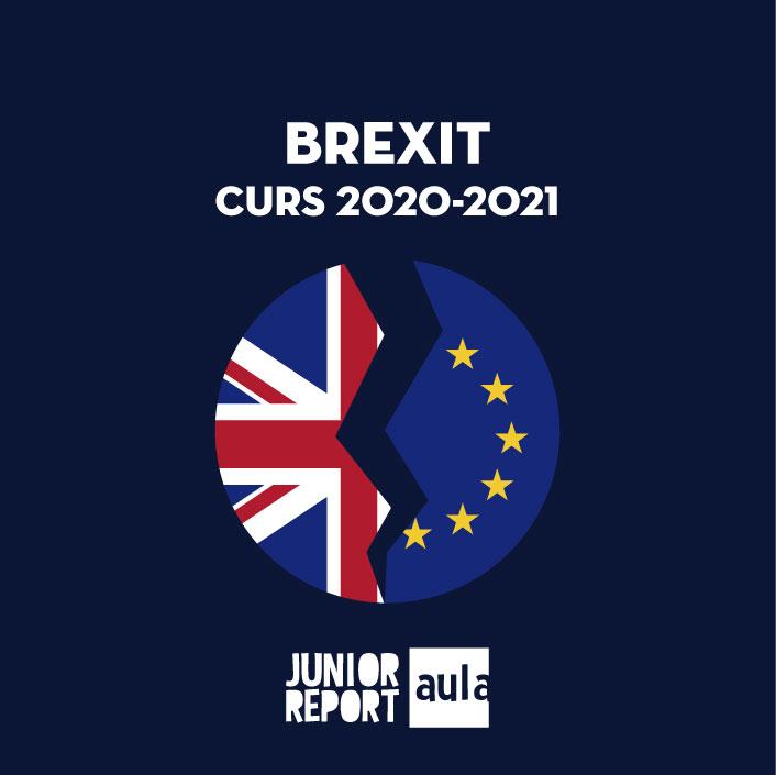Botó per coneixer l'Unitat Didàctica Brexit curs 2020-2021 de Junior Report Aula