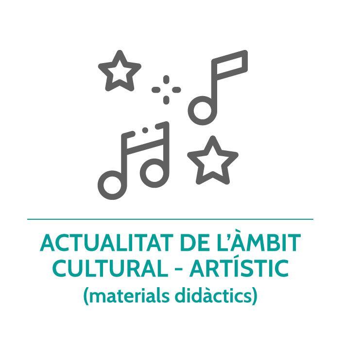 Botó per coneixer la hemeroteca de l'àmbit cultural-artístic de Junior Report