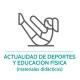 Botón para conocer la hemeroteca del ámbito de deportes y educación física de Junior Report