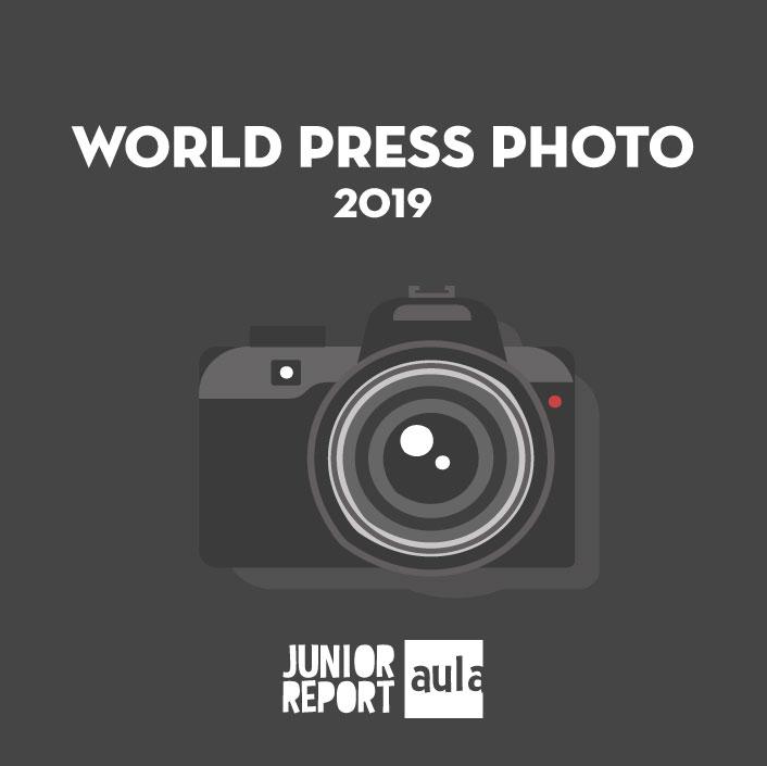 Botó per coneixer l'Unitat Didàctica World Press Photo de Junior Report Aula