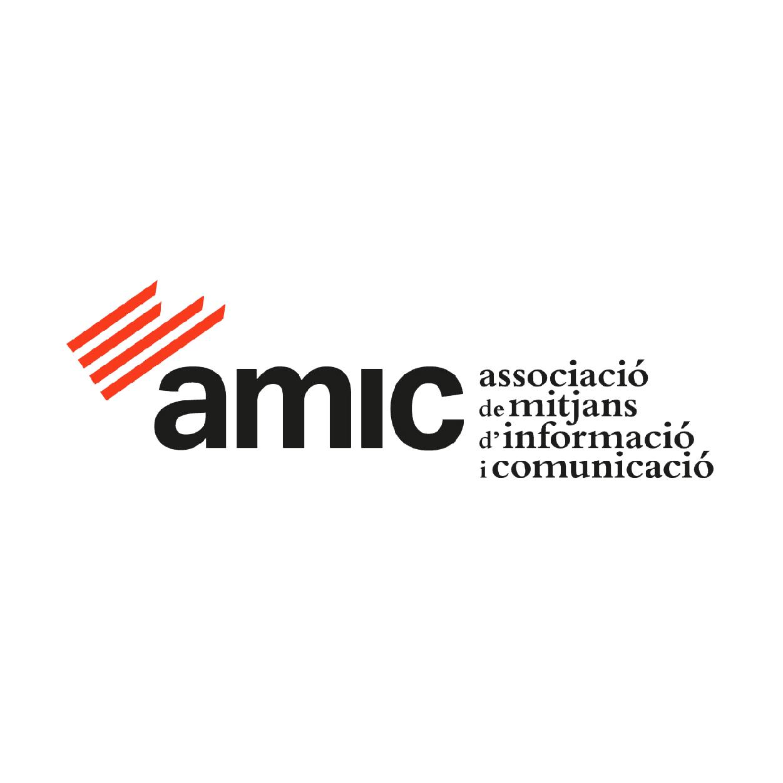 Logo Amic associació de mitjans d'informació i comunicació
