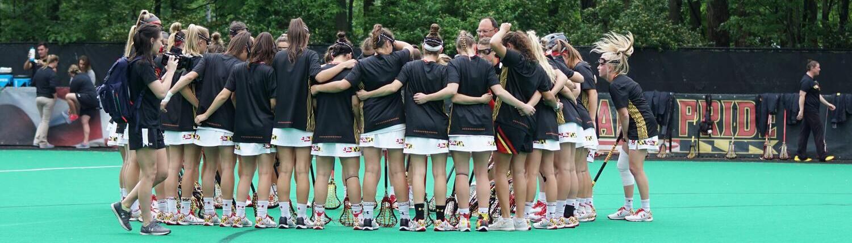 Fotografía de un equipo femenino de Lacrosse