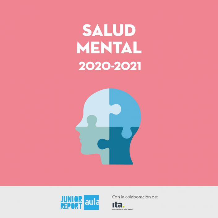 Botón para conocer la Unidad Didáctica Salud Mental de Junior Report Aula y Ita Salud