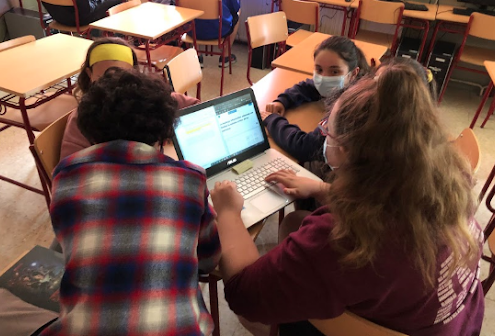 Redacció escolar de Las Rozas Report (Madrid)