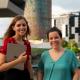 Elisa Pont i Alba F. Candial són les periodistes al capdavant de Blue Globe Media i Junior Report.