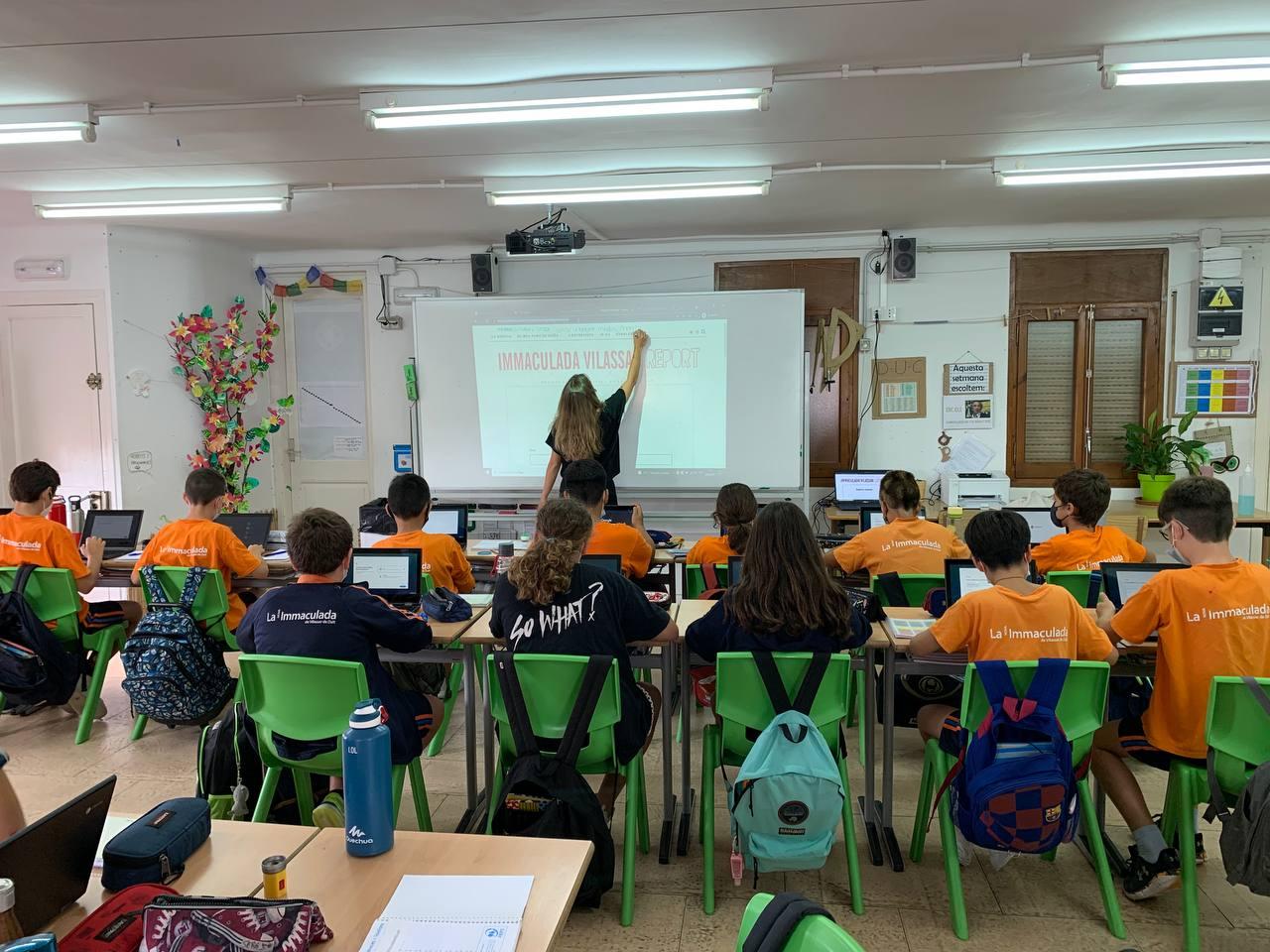 La Immaculada Vilassar Report és una de els redaccions que participa a la xarxa Revista Escolar Digital (RED)